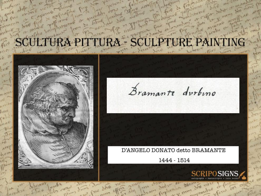 D'Angelo Donato detto Bramante
