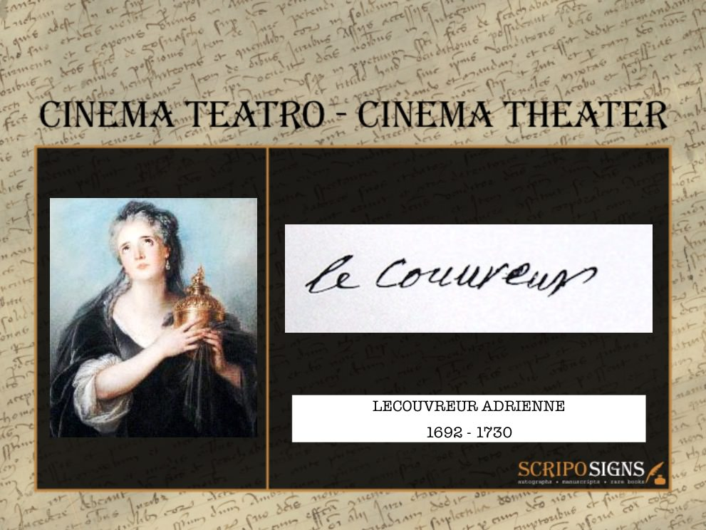 Lecouvreur Adrienne