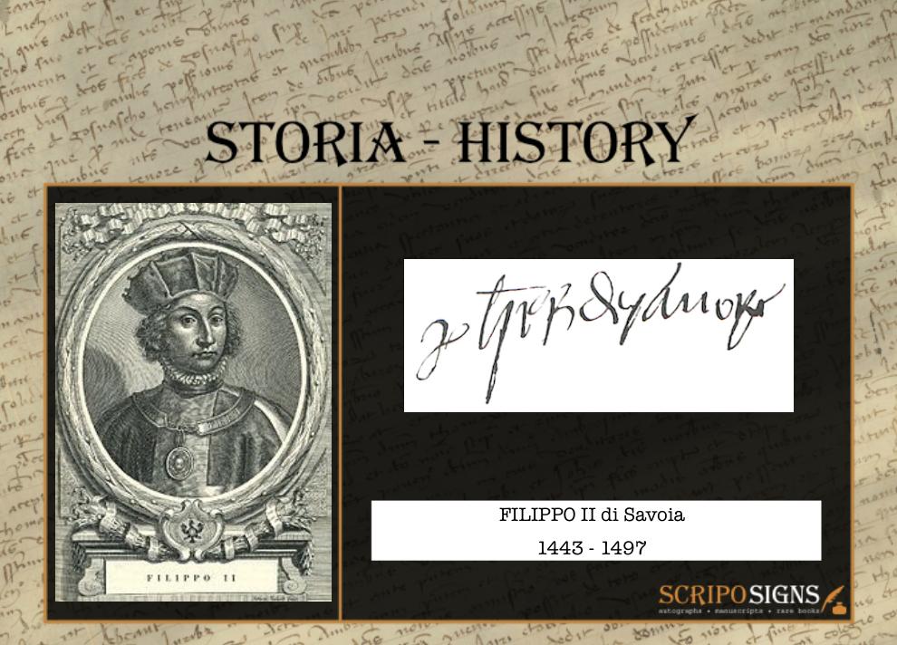 Filippo II di Savoia