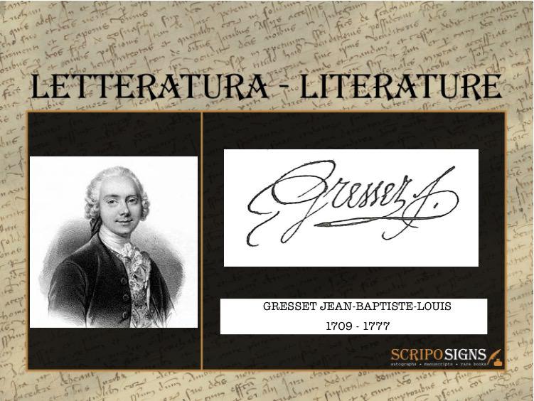 Gresset Jean-Baptiste-Louis