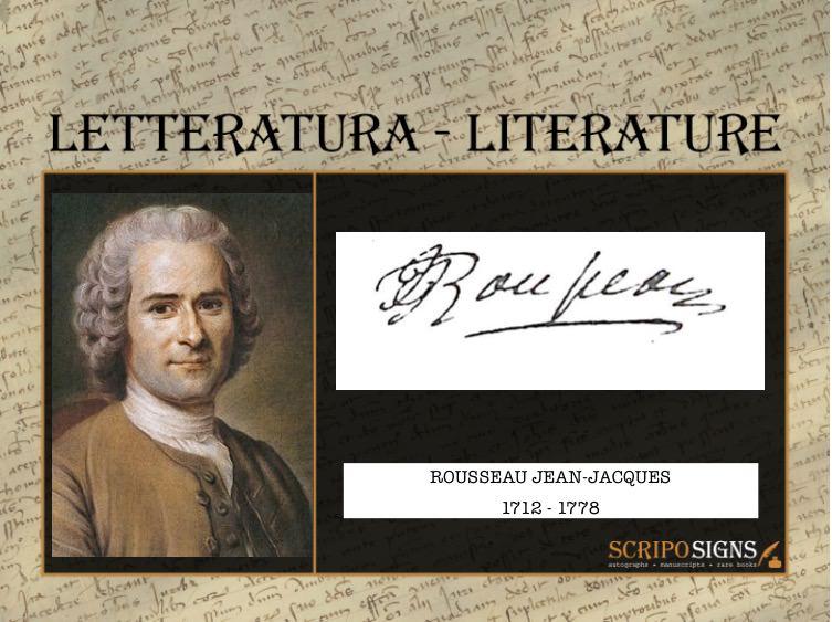 Rousseau Jean-Jacques