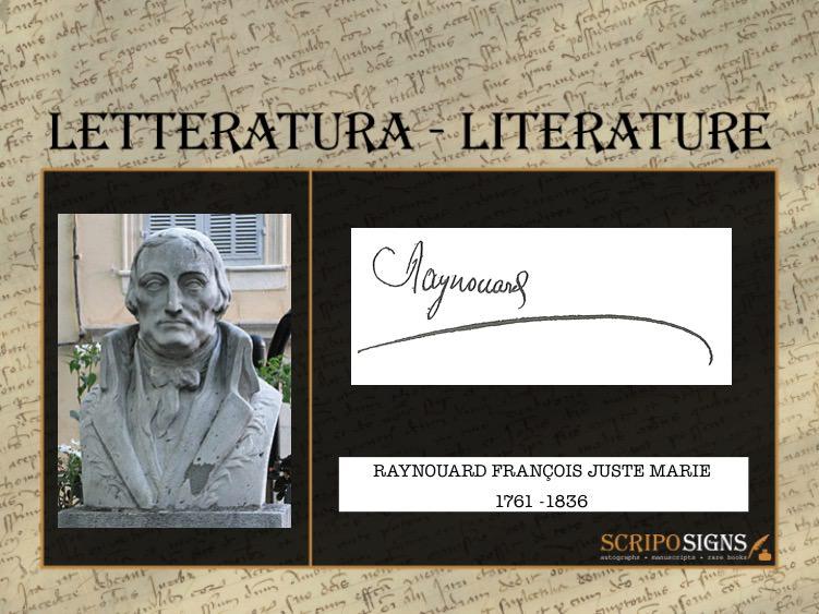 Raynouard François Juste Marie