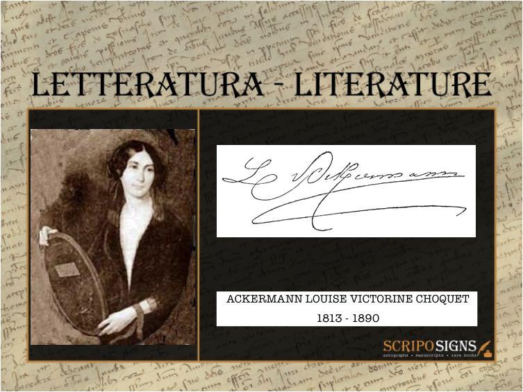 Ackermann Louise Victorine Choquet