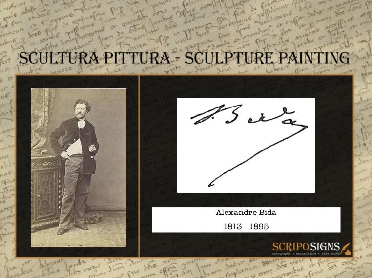 Autografo • Firma Alexandre Bida • Scriposigns
